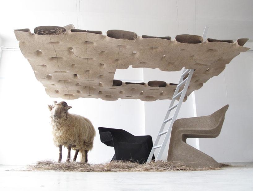 hemp chair/ aisslinger