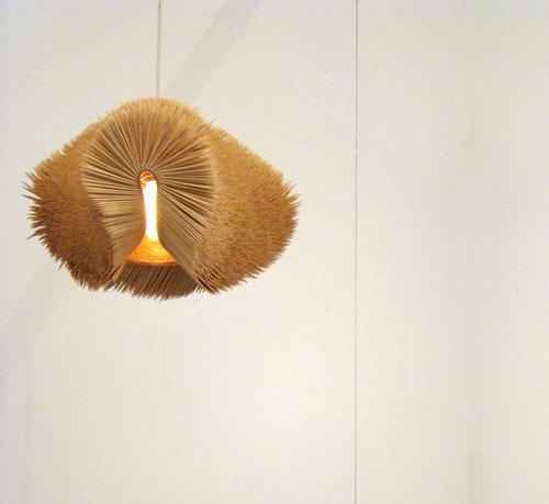 toothpick lamp/ daisukehiraiwa