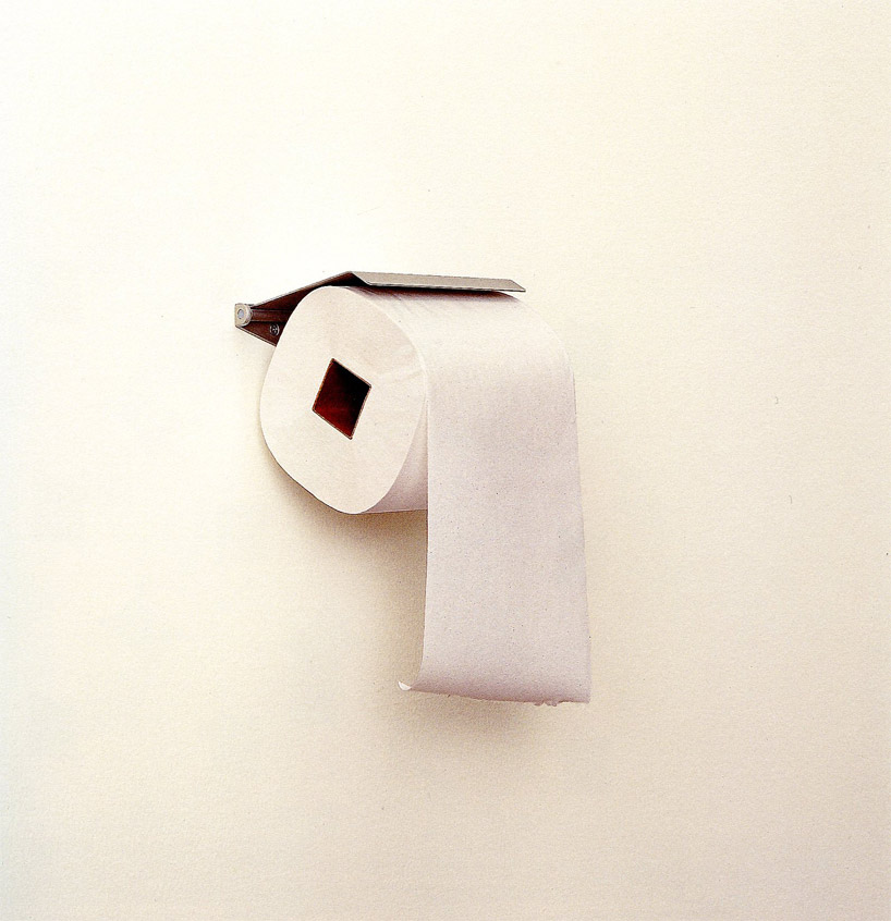 re-design: toilet paper/ Design by Kenya Hara
